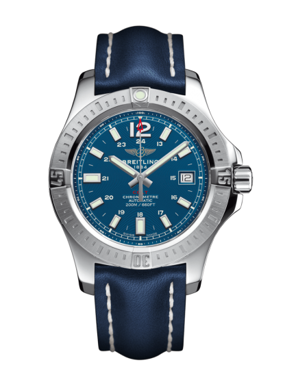 Used Breitling Colt 41 Automatic Steel Mariner Blue