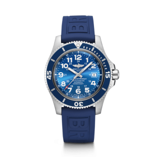 Used Breitling Superocean II 44 Steel satin-finish Gun Blue
