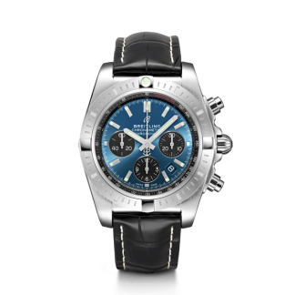 best cheap Breitling Chronomat B01 Chronograph 44 Steel Blackeye Blue