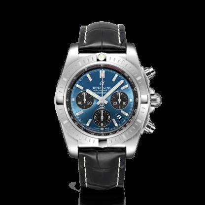 best cheap Breitling Chronomat B01 Chronograph 44 Steel Blackeye Blue