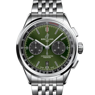 best cheap Breitling Premier B01 Chronograph 42 Bentley Steel Green