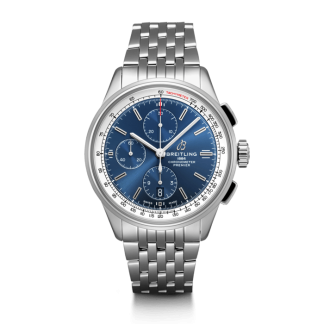 best cheap Breitling Premier Chronograph 42 Steel Blue