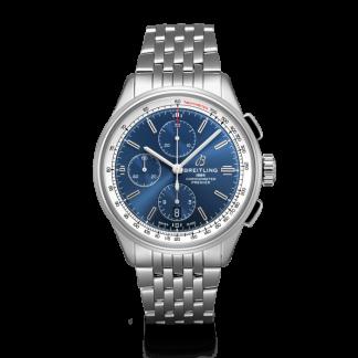 best cheap Breitling Premier Chronograph 42 Steel Blue
