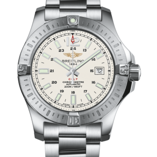 best fake Breitling Colt Automatic Steel Silver