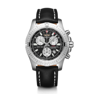 best fake Breitling Colt Chronograph Steel Volcano Black