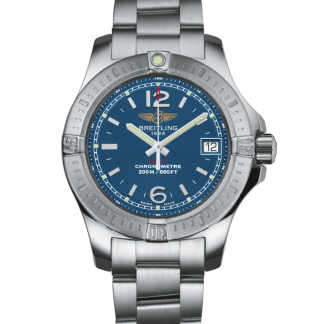 best fake Breitling Colt Lady Steel Mariner Blue