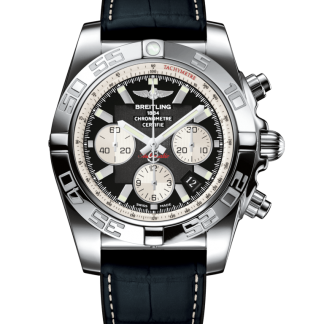 best replica Breitling Chronomat 44 Steel polished Onyx Black