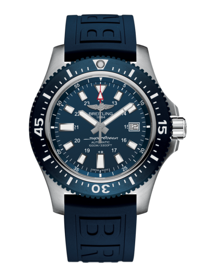 buy replica Breitling Superocean 44 Special Steel Mariner Blue