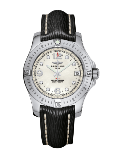 cheap replica Breitling Colt 36 Steel Pearl Diamond