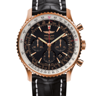 cheap replica Breitling Navitimer 01 46mm Red gold Limited Black/gold