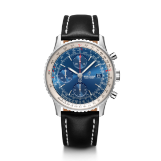 cheap replica Breitling Navitimer 1 Chronograph 41 Steel Aurora Blue