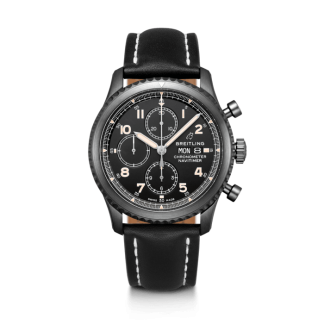 cheap replica Breitling Navitimer 8 Chronograph 43 Black steel Black