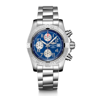 cheapest price Breitling Avenger II Steel Mariner Blue