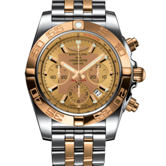 cheapest price Breitling Chronomat 44 Steel & gold Golden Sun
