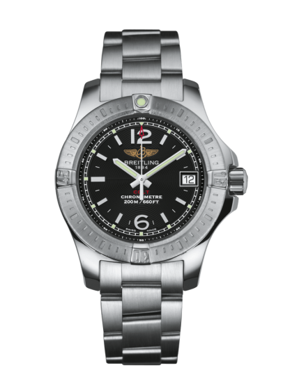 cheapest price Breitling Colt Lady Steel Volcano Black