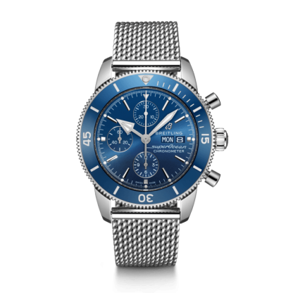 cheapest price Breitling Superocean Héritage II Chronograph 44 Steel Blue
