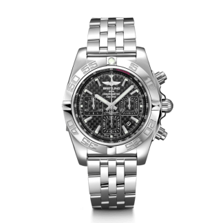 discounted Breitling Chronomat 44 Steel polished Carbon