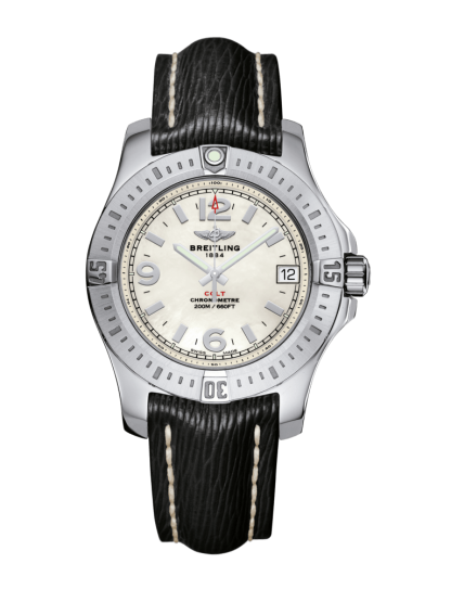 discounted Breitling Colt 36 Steel Pearl