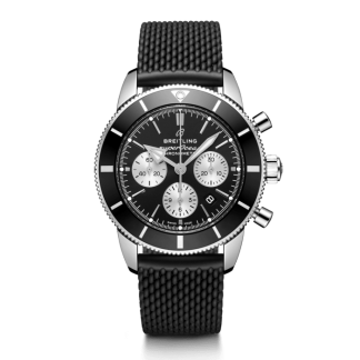 discounted Breitling Superocean Héritage II B01 Chronograph 44 Steel Black