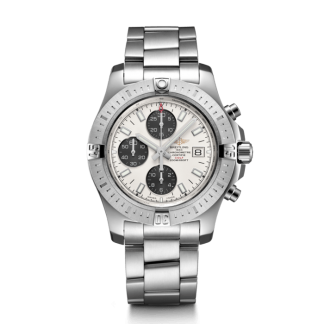 fake watches Breitling Colt Chronograph Automatic Steel Silver
