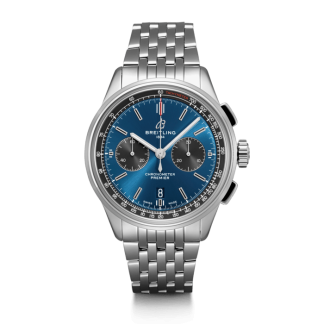 fake watches Breitling Premier B01 Chronograph 42 Steel Blue