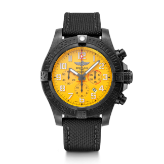 fashion Breitling Avenger Hurricane 12h Cobra Yellow