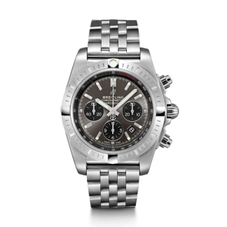 fashion Breitling Chronomat B01 Chronograph 44 Steel Blackeye Gray