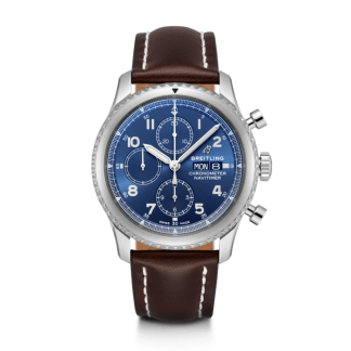 fashion Breitling Navitimer 8 Chronograph 43 Steel Blue