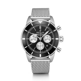 fashion Breitling Superocean Héritage II B01 Chronograph 44 Steel Black