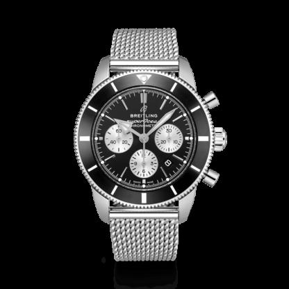 fashion Breitling Superocean Héritage II B01 Chronograph 44 Steel Black