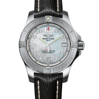 for sale Breitling Colt Lady Steel Pearl Diamond