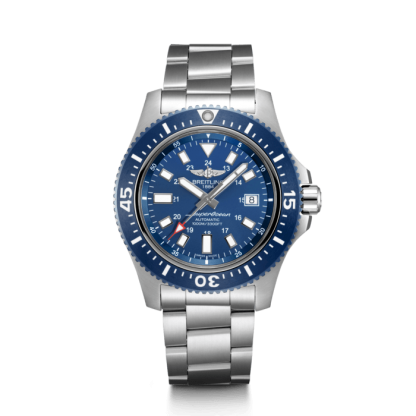 for sale Breitling Superocean 44 Special Steel Mariner Blue