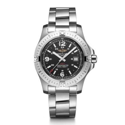 high quality Breitling Colt Quartz Steel Volcano Black