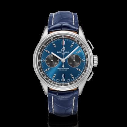 high quality Breitling Premier B01 Chronograph 42 Steel Blue