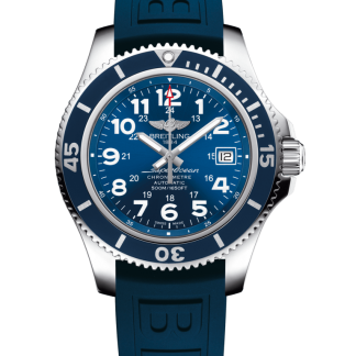 high quality Breitling Superocean II 42 Steel Mariner Blue