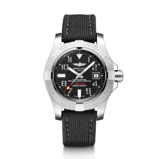 made in china Breitling Avenger II Seawolf Steel satin-finish Volcano Black