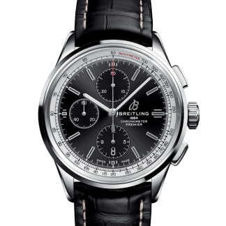 made in china Breitling Premier Chronograph 42 Steel Black