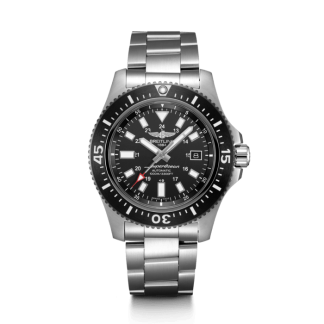 mens watches Breitling Superocean 44 Special Steel Volcano Black