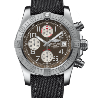 price list Breitling Avenger II Steel Tungsten Gray