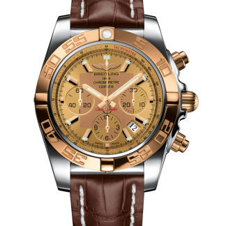 price list Breitling Chronomat 44 Steel & gold Golden Sun