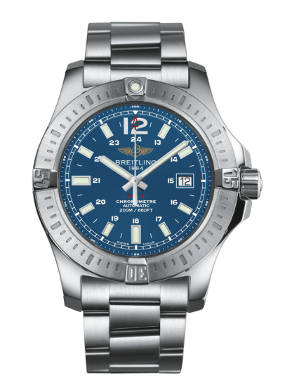 price list Breitling Colt Automatic Steel Mariner Blue