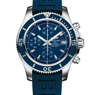 price list Breitling Superocean Chronograph 42 Steel Mariner Blue