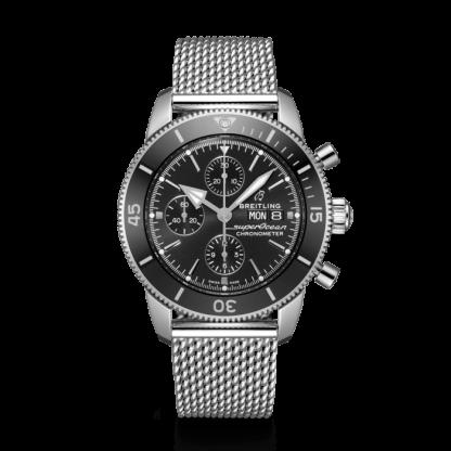 price list Breitling Superocean Héritage II Chronograph 44 Steel Black