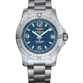 replica perfect Breitling Colt 36 Steel Mariner Blue