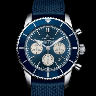 replica perfect Breitling Superocean Héritage II B01 Chronograph 44 Steel Blue