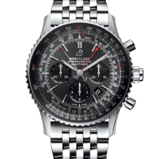 replica watches Breitling Navitimer 1 B03 Chronograph Rattrapante 45 Stratos Grey Boutique Edition Steel Stratos Gray