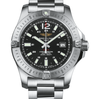 second hand Breitling Colt Automatic Steel Volcano Black