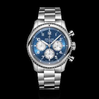 second hand Breitling Navitimer 8 B01 Chronograph 43 Steel Blue