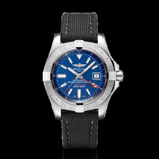 swiss grade 1 Breitling Avenger II GMT Steel Mariner Blue