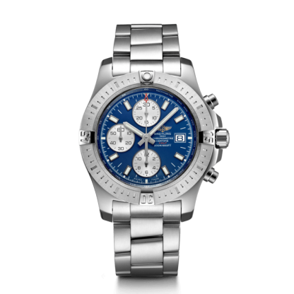 swiss grade 3 Breitling Colt Chronograph Automatic Steel Mariner Blue